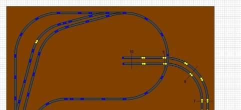 Railroad-Professional: Darstellung der unteren Ebene alleine