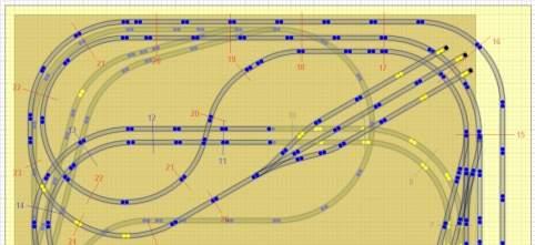 Railroad-Professional: Darstellung beider Ebenen zusammen und transparent