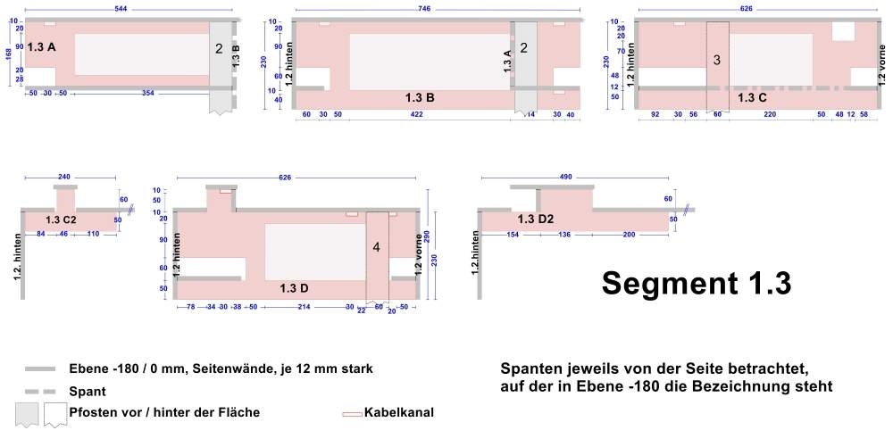 Beispiel 2: technischer Konstruktionsplan; Vollbild.